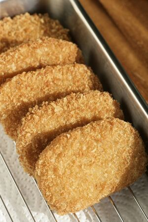 aliments: Croquettes