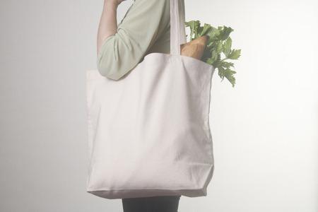bolsa de pan: Bolsa Eco Foto de archivo