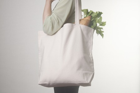 pastry bag: Eco bag Stock Photo