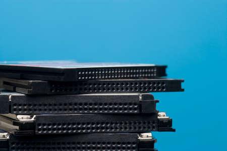 micro drive: CF memory and micro drive