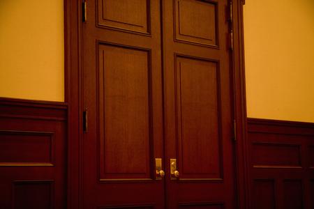 door knob: Knob of the door