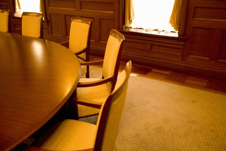 round table conference: Conference room