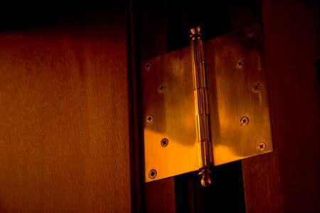 hinge: Hinge of the door