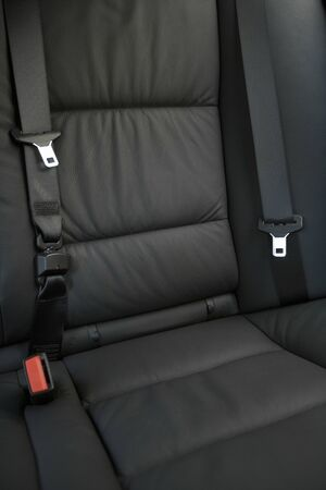 skinning: Seat belt of the car