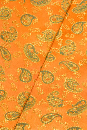 longitudinal: Paisley motif Stock Photo