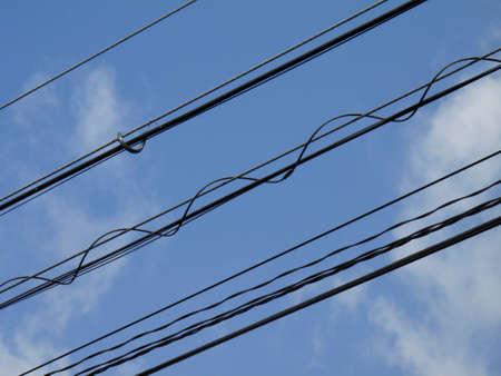 fiber cable: Optical fiber cable Stockfoto