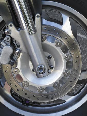 frenos: frenos de disco de la bici