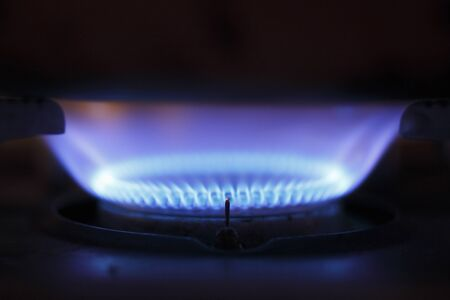 gas flame: Gas flame