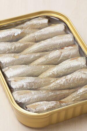 oiled: Oiled sardine