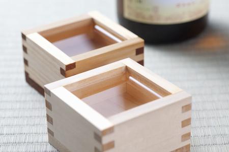 sho: MASU sake Stock Photo