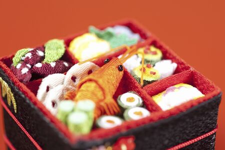 Image of New Year dishes 版權商用圖片