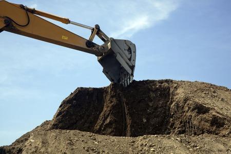 power shovel: Power shovel Stock Photo