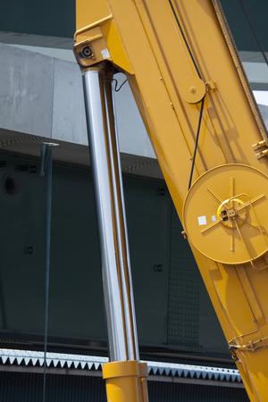 hydraulic: Crane of hydraulic piston