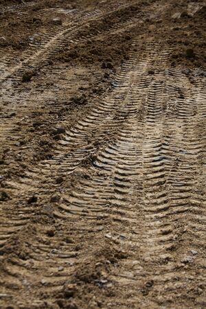 tire marks: Tire marks