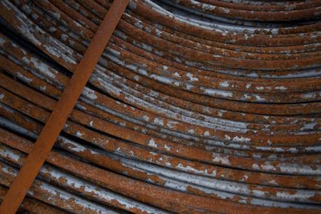 rusty wire: Rusty wire Stock Photo