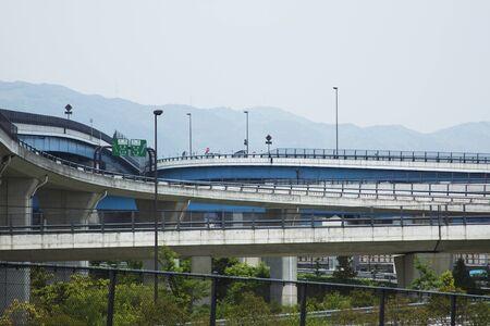 jct: Oyamazaki Junction Stock Photo
