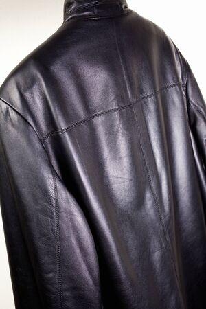 jumper: Leather jumper