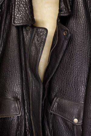 fastener: Leather jumper