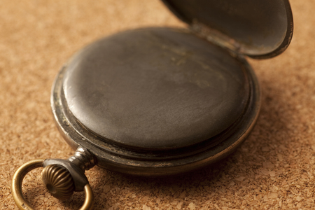 long  ago: The back of the pocket watch