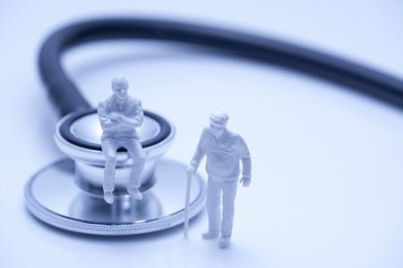 Stethoscope of image