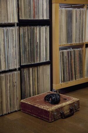 lp: LP records Stock Photo