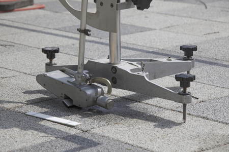 resistance: Slip resistance measurement of the sidewalk