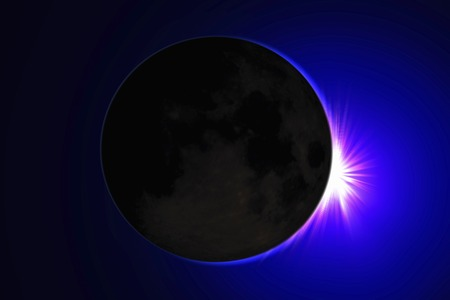 total: Total solar eclipse image