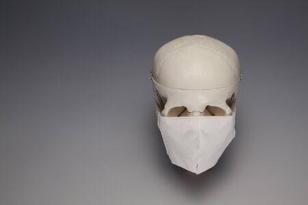 感染予防マスクのイメージ 写真素材