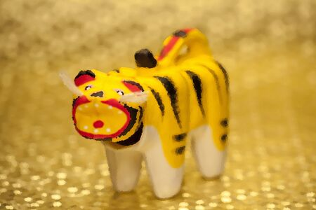 papiermache: Zodiac Tiger illustrations