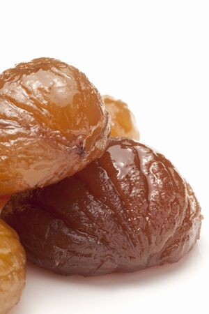marron: Marron glace Stock Photo