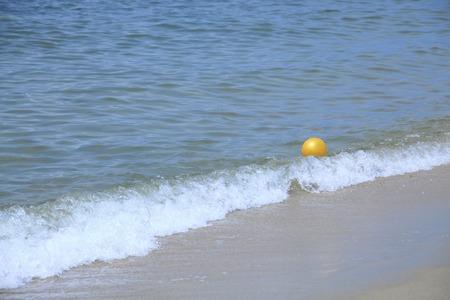sandy beaches: Sandy beaches and beach ball