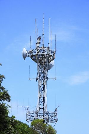 antenna: Mountaintop antenna