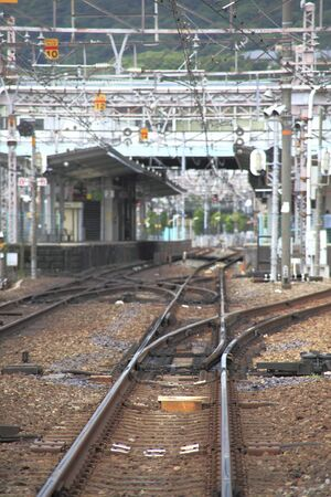 switching: The point switching of rail