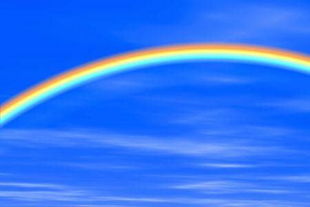 Rainbow of CG