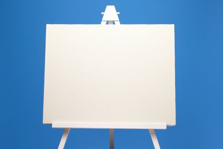 easel: Canvas and easel