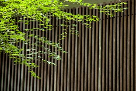 lattice window: Window lattice of the Japanese-style building Stock Photo