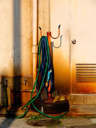 car wash: Car wash hose