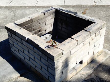 incinerator: Waste incineration plant of refractory brick
