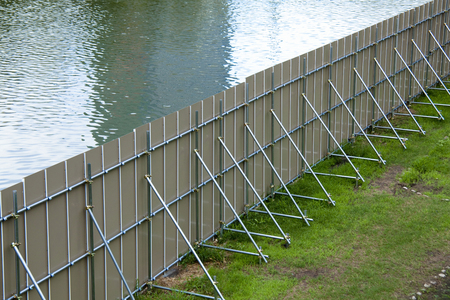 fulcrum: Fence of the construction site