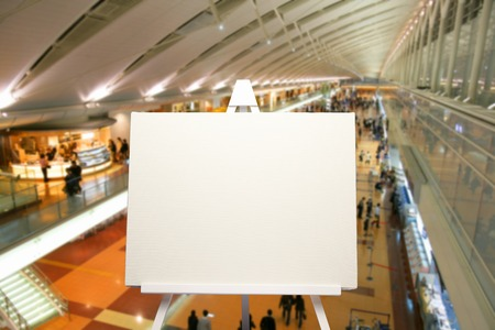 synthesis: Synthesis of the airport and the canvas