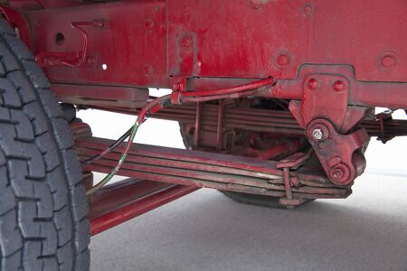 absorption: Track of the leaf spring