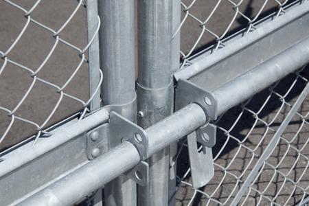 wire mesh: Door of wire mesh