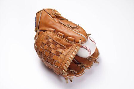 Baseball grabs Stock Photo