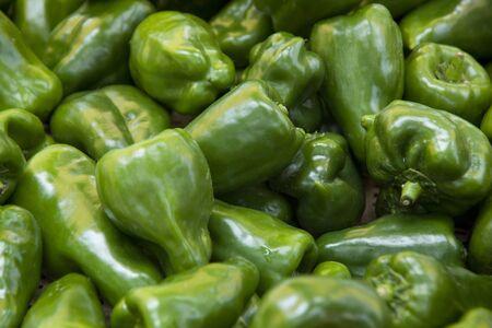 green pepper: Pesticide-free green pepper