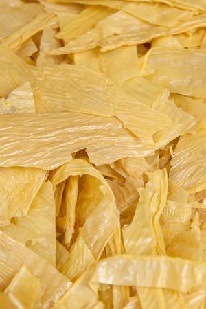 curd: Dried bean curd