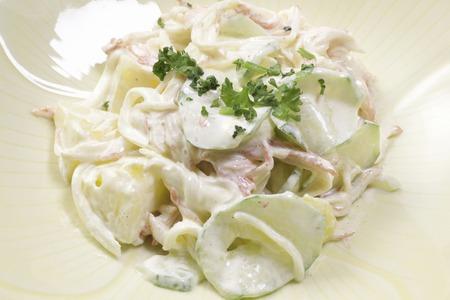 Salade de pâtes Banque d'images - 46886912