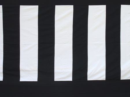 at white: White curtain Stock Photo