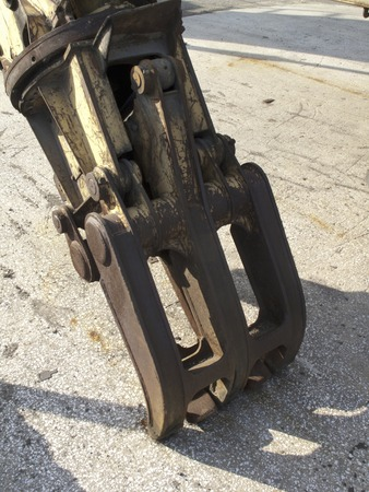 フックの建設機械 写真素材