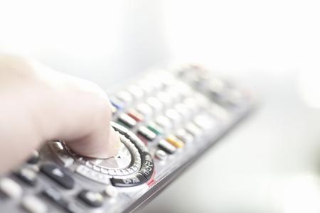 operates: It operates the TV remote control