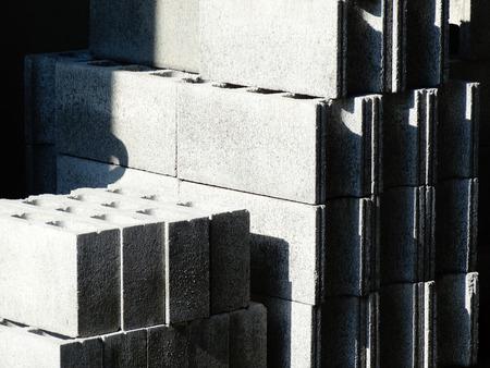 bloque de hormigon: Bloque de hormig�n  Foto de archivo